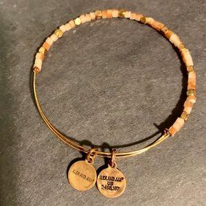 Alex & Ani glass beaded vintage bracelet